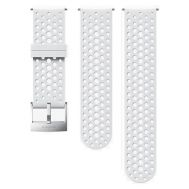 SUUNTO 24MM ATHLETIC 1 SILICONE STRAP WHITE STEEL SIZE S+M [CLONE] | Λουράκια Ρολογιών στο smart-tech.gr