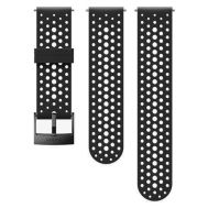 SUUNTO 24MM ATHLETIC 1 SILICONE STRAP BLACK SIZE S+M | Λουράκια Ρολογιών στο smart-tech.gr