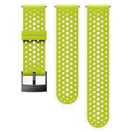 SUUNTO 24MM ATHLETIC 1 SILICONE STRAP LIME SIZE S+M | Λουράκια Ρολογιών στο smart-tech.gr