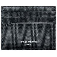 TRU VIRTU Wallet Soft Lizard Black | ΣΕΙΡΑ LEATHER στο smart-tech.gr