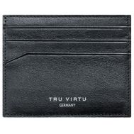 TRU VIRTU Wallet Soft Nappa Black | ΣΕΙΡΑ LEATHER στο smart-tech.gr