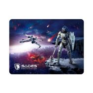 SADES Gaming Mouse Pad Lightning, Low Friction, Rubber base, 350 x 260mm | MOUSE PAD στο smart-tech.gr