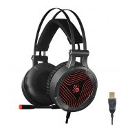BLOODY Gaming Headset BLD-G530, 7.1CH, 50mm, USB, 105dB, μαύρα | HEADSETS στο smart-tech.gr